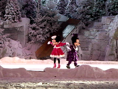 Mickey's Winter Wonderland show, Chaparral Theater, Frontierland