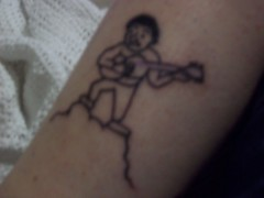 dj tattoo 009 (davenportavenger) Tags: tattoo daniel johnston