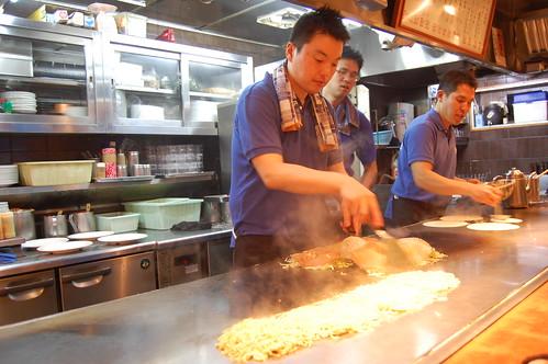 Cooking hiroshimayaki