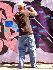 Cinco De CIA Wall - Action Shots (Seetwist) Tags: streetart art wall graffiti colorado paint grafitti action 5 cia may free denver spray urbanart graffitti production cinco spraypaint local graffito graff piece aerosol burner each legal masterpiece cincodemayo grafitto mien 303 bna reps legalwall ciawall isor freewall seetwist iyq productionwall dopeburner coloradoinstituteofart seetwistproductions