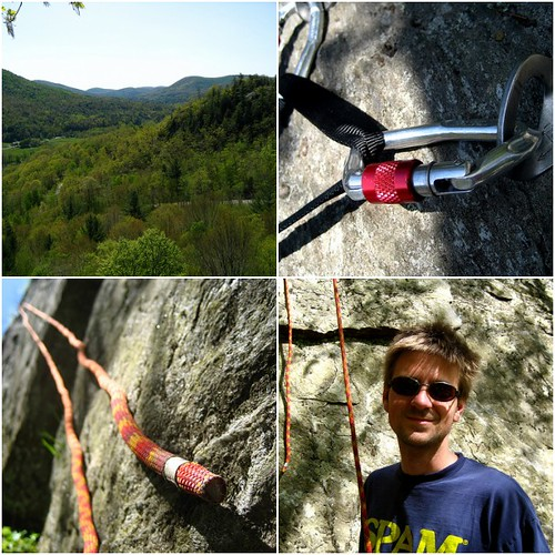 Bolton Cliffs Climbing