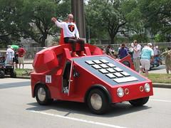 """texas sized phone"" (xepht) Tags: houston artcarparade texassizedphone"