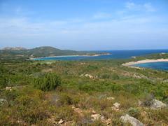 Sentier Rondinara - Tre Padule : la baie de Rondinara et la plage au Sud
