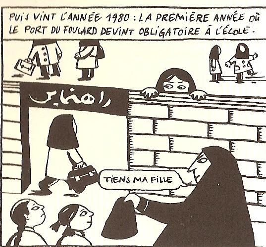 Il foulard - Persepolis 1