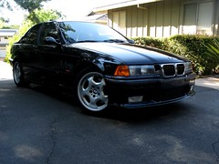 M3/4/5 (youneverknowphotography) Tags: black reflection tree car grill bmw 1997 manual m3 kidney cosmos ambers 5speed e36