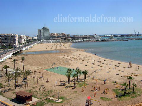 Playa De San Lorenzoo y Carabos