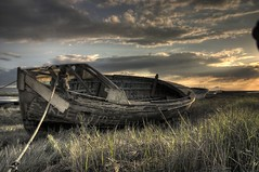A beached boat (*Richard Cooper *) Tags: chapeau hdr boatyard heswall flickrsbest fanflickrtastic hdraward