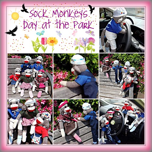 Sock Monkeys Day at the Park.