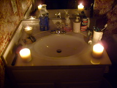 My Bathroom By Candelight