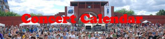 Concert Calendar Banner