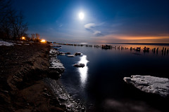 IMGP-4400 (Bob West) Tags: longexposure nightphotography winter moon ontario ice lakeerie greatlakes fullmoon nightshots lightroom sigma1020mm southwestontario bobwest k10d gaju2810
