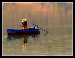 fishing in the lake (maios) Tags: travel blue light summer sun lake reflection bird nature water colors hat silhouette greek boat photo fishing fisherman europa europe flickr ship photographer notes hellas olympus greece macedonia fisher fotografia serres manikis naturesfinest kerkini maios iosif    heliography     abigfave   platinumphoto anawesomeshot  ysplix            iosifmanikis     artistoftheyearlevel3 artistoftheyearlevel4 artistoftheyearlevel5 artistoftheyearlevel6