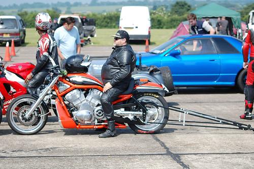 Harley V-Rod  Destroyer Drag Bike