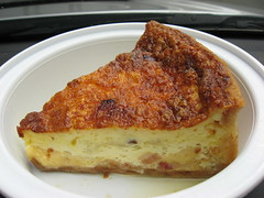Bouchon Bakery: Quiche lorraine (close up another view)
