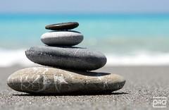 silence (photos4dreams) Tags: om peace peaceful relaxation stones sea colors blue harmony silence italy calabria p4d photos4dreams photos4dreamz ©photos4dreams stone