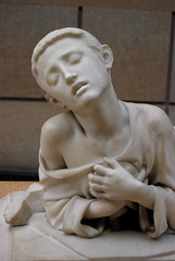 Alexandre Falguière - Tarcisus, the Christian boy-martyr (Chicago_Tim) Tags: paris france orsay museum art artwork sculpture academic marble creativecommons statue