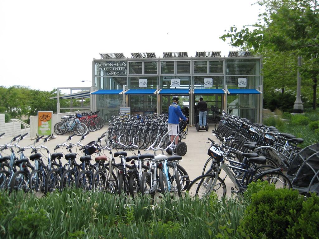 Bike station front