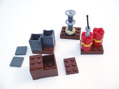 Indy11 (peterlmorris) Tags: airplane toy lego soviet indianajones 7628 crystalskull perilinperu