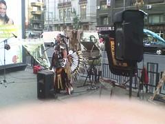 RAZA muzica peruana amerindieni zulu Piata Romana Romania 3