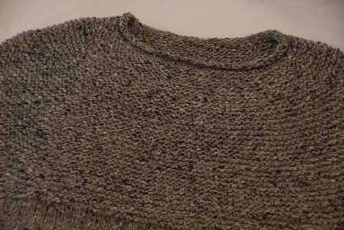 Yoke of Cobblestone Pullover