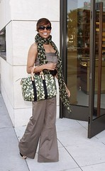 Singer Monica shops on Rodeo Drive on June 30,  2008 in Beverly Hills, California.