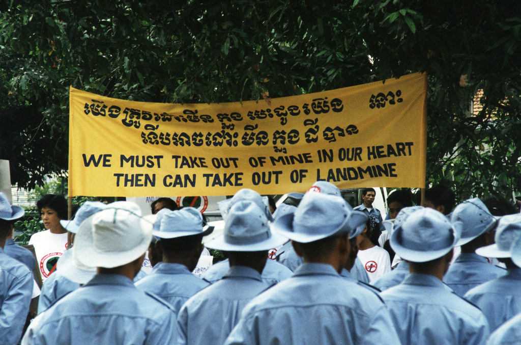 Landmine Awareness Banner