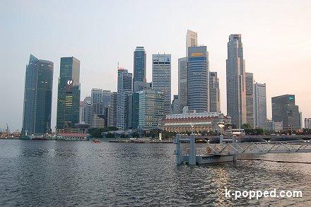 view singapore dusk