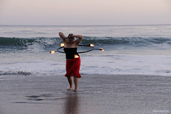Melissa (naturalturn) Tags: ocean california woman usa santacruz beach wet water hoop fire dance twilight sand waves dancing pacific melissa pacificocean spinning firespinning firedancing wade moran hooping wading sandybeach firedance firehooping kinetica moranbeach firehoop melissarae image:rating=4 image:id=057564