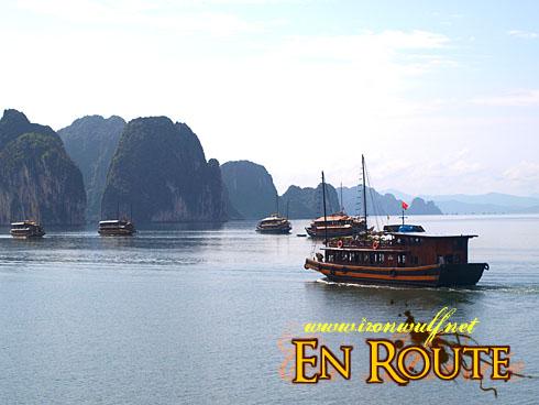 Ha Long Bay Karst and Junks