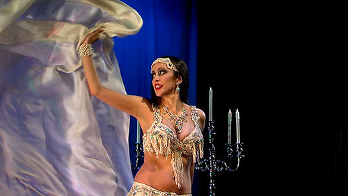 Sarah demonstration veil dance of seven veils