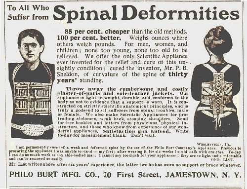 bondage steampunk para la deformidad 1
