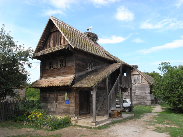 Turn of century timbered house