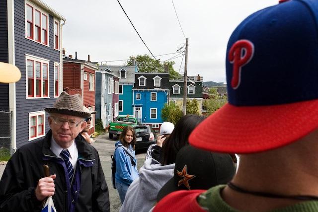 Michael Boyle and St. John's walking tour