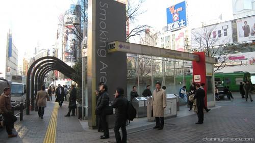 Japan smokes
