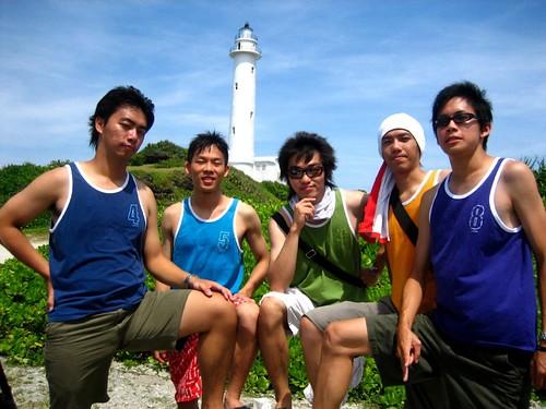 你拍攝的 2.陽光彩虹5男孩成功征服綠島。