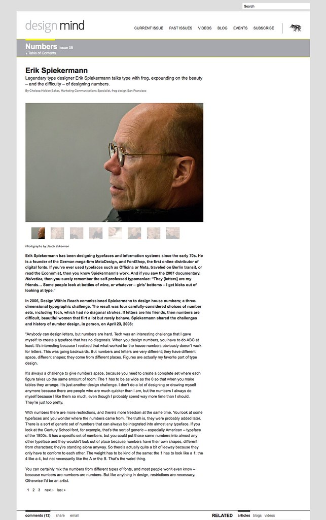 Erik Spiekermann | design mind_1217499581461