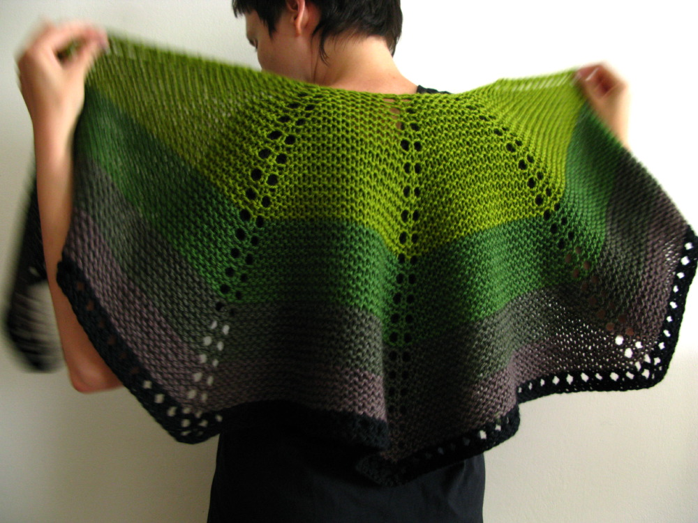 Weavers Wool Mini Shawl