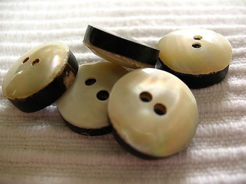 Pearl&hornbuttons
