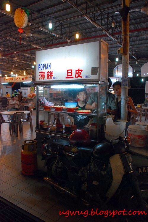 Popiah Stall - The Wongs
