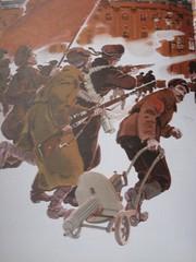 Mad rush for the 1917 furry hat sale (Old Glenbogle) Tags: russia communist soviet revolution revolutionary childrensbooks