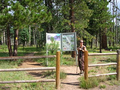 Trailhead (Upper Frijoles Crossing, New Mexico, United States) Photo