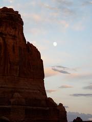 moon (brett.baxter ;)) Tags: rock utah arch desert arches canyonlands moab rockformation