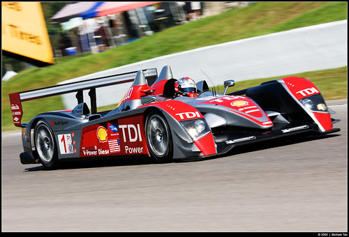 Grand Prix of Mosport - Saturday: ALMS LM P1 Qualifying (by Tanner.)