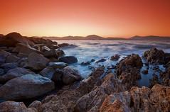 Sunset in Saint-Tropez (aragost) Tags: longexposure sunset sea sun landscape cotedazur ctedazur filter provence tobacco var draguignan sainttropez frenchriviera cokin gnd p121 p124 santtropetz