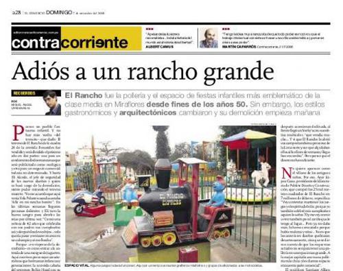 El Rancho Pollos a la brasa Lima Peru