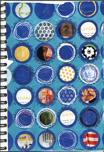 "Art Journal: 8-28-08 :: ""Circles"""