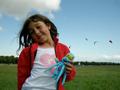Child playing in the wind with a smile (WASABIdesign) Tags: green foundation wasabi ecological wasabidesign samanthaschmidt