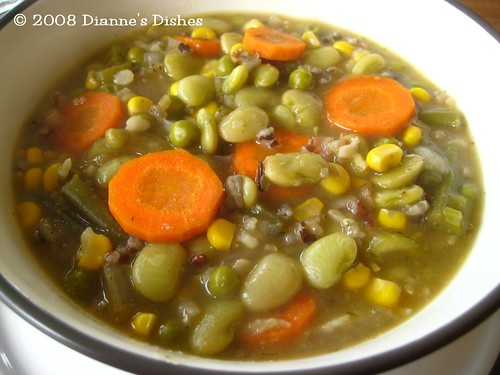 Chickenless Dill and Wild Rice Soup