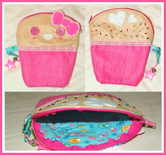 Cup Cake Pouch