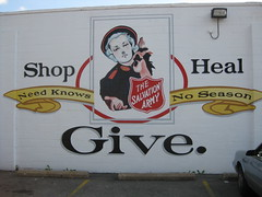 Salvation Army Mural by David Petri